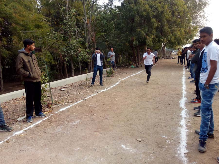 Long Jump Competition 2017
